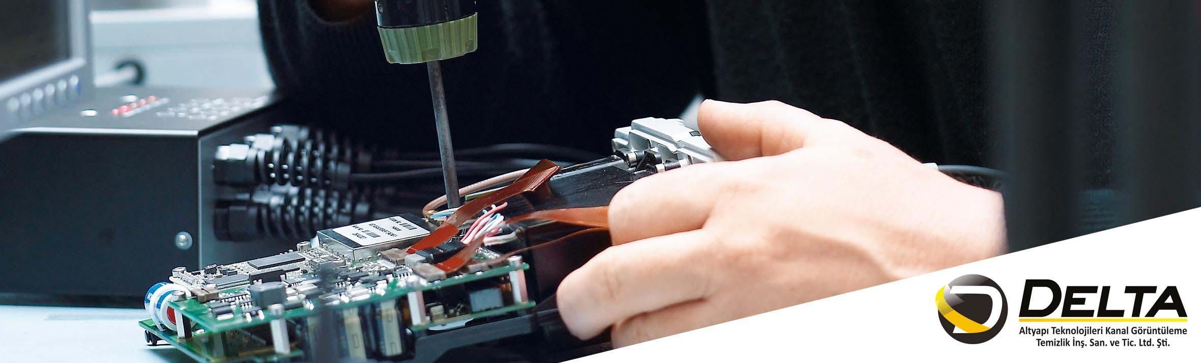 Kanal Görüntüleme Robotları Teknik Servis