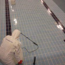 Havuzlarda kaçak giderici kimyasal uygulaması