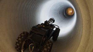 Kanal ve Kanalizasyon boruları görüntüleme robotu